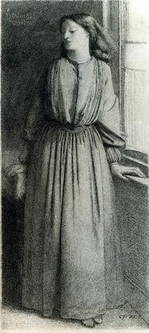 Elizabeth Siddal, May 1854 von Dante Gabriel Charles Rossetti