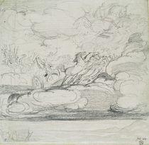 Elijah Casting Off His Mantle by James Ward