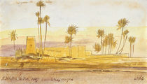 Near Wady Halfeh, 5:30pm, 6 February 1867 von Edward Lear
