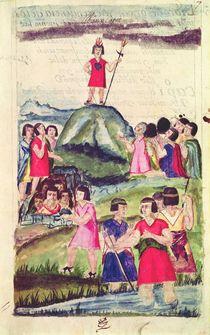 Illustration of Manco Capac von Spanish School
