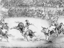 The Famous American, Mariano Ceballos by Francisco Jose de Goya y Lucientes