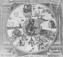Frontispiece to Robert Fludd's Utriusque Cosmi Historia von Matthaus, the Elder Merian