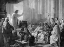 St. Augustine preaching before Valere by Carle van Loo