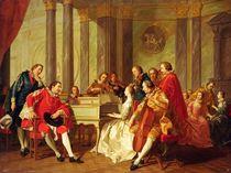 Sextet, 1768 by Louis Michel van Loo