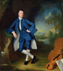Portrait of Man, c.1758-60 by George Romney