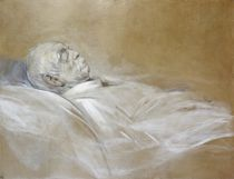 Prince Otto von Bismarck on his Death Bed by Franz Seraph von Lenbach