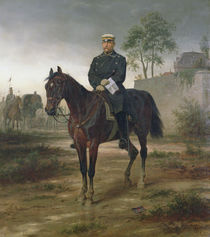 Bismarck before Paris, 1873 by Wilhelm Camphausen