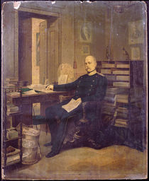 Otto von Bismarck in his Study von German School