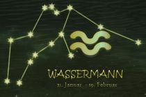 Sternzeichen - Wassermann von Chris Berger