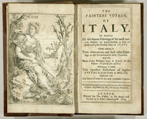 Titlepage from 'The Painter's Voyage of Italy...' by Giacomo Barri by William Lodge