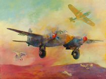 Mosquito aircraft by Geoff Amos