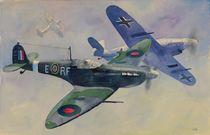 Spitfire MkV by Geoff Amos
