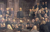 Conference of the German Reichstag on the 6th February 1888 von Ernest Henseler