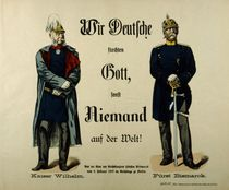 Emperor Wilhelm I and Prince Bismarck von German School