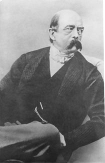 Bismarck in 1866 as Minister-President of Prussia by German School