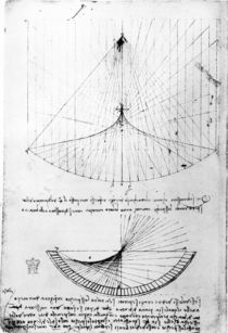 Studies of concave mirrors of constant and parabolic curvatures von Leonardo Da Vinci