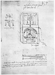 Fol. 54r from Paris Manuscript B von Leonardo Da Vinci