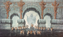Muehleborn's Water Palace, set design for a production of 'Undine', by Karl Friedrich Schinkel