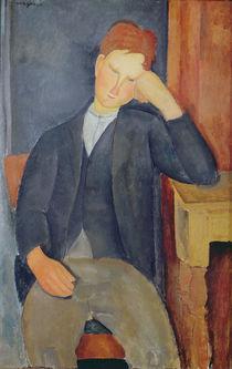 The young apprentice, c.1918-19 von Amedeo Modigliani