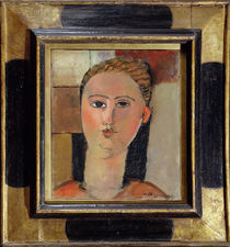 Girl with red hair, 1915 by Amedeo Modigliani