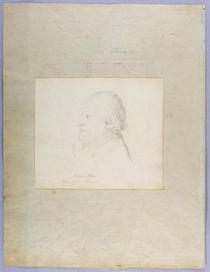 Portrait of William Blake, c.1804 von John Flaxman