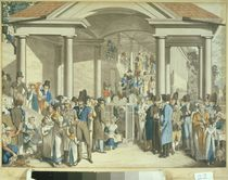 Health Community at the Karlsbader Fountain by Georg Emanuel Opitz