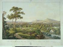 View of Jena from Rasenhuehlberg von Joseph Roux