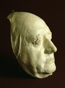 Goethe's Mask, 1807 by Ludwig Weisser