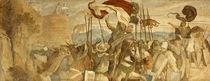 'Faithful Men are the best wall' von Moritz Ludwig von Schwind