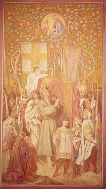 Funeral Procession, c.1855 by Moritz Ludwig von Schwind