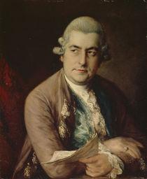 Johann Christian Bach, 1776 von Thomas Gainsborough