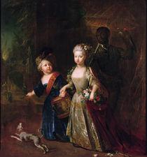 Crown Prince Frederick II with his sister Wilhelmine von Antoine Pesne
