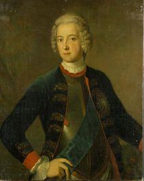 Crown Prince Frederick II, 1728 by Antoine Pesne