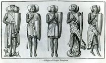 Effigies of Knight Templars von English School