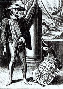 King John of Brienne, King of Jerusalem by English School
