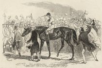 Sir Tatton Sykes leading in the winner of the St. Leger by English School