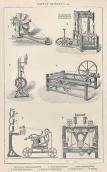 Cotton Spinning I: Development of Spinning Machinery von English School