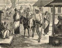 The Indian Famine: A Bengalee Village von English School
