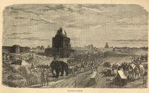 Environs of Delhi, 1857 by English School