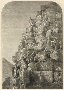 Ascent of the Great Pyramid von English School