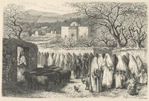 Marabout and Procession: Tlemcen by Edouard Riou