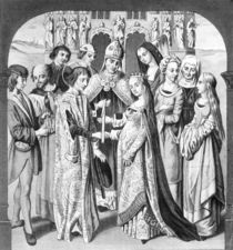 The Marriage of Henry VI and Margaret of Anjou von English School
