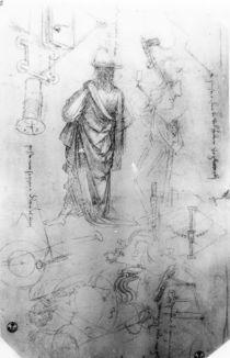Studies von Leonardo Da Vinci