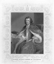 Gilbert Burnet, Bishop of Salisbury by Godfrey Kneller