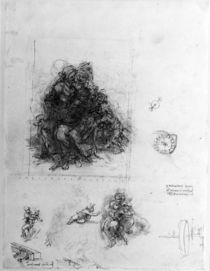 Study for the Virgin and Child with St. Anne by Leonardo Da Vinci