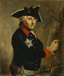 Frederick II the Great of Prussia by Anton Graff