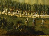 Frederick the Great on horseback in the Maulbeerallee by German School
