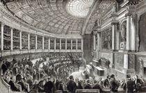 The Chamber of Deputies, Paris by English School