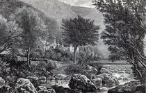 Near Lynmouth, from 'Leisure Hour' von English School