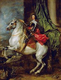 Equestrian portrait of Thomas Francis of Carignan von Anthony van Dyck